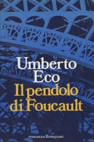 Foucault's Pendulum - First edition (Italian)