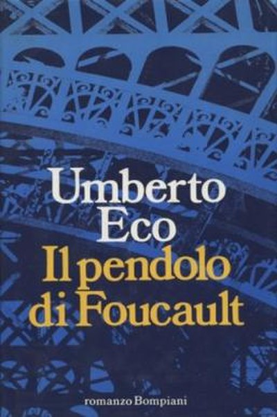 Picture of a book: Foucault's Pendulum