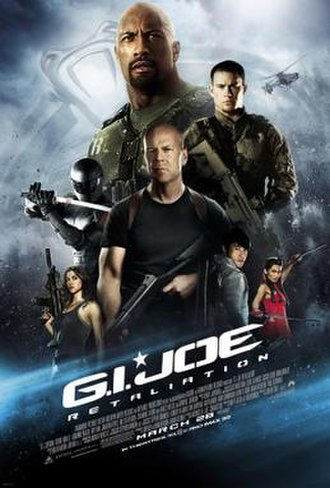 G.I. Joe: Retaliation - Theatrical release poster