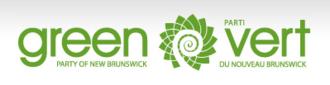 Green Party of New Brunswick - Image: GPNB logo