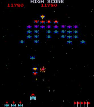 Galaxian - Gameplay screenshot