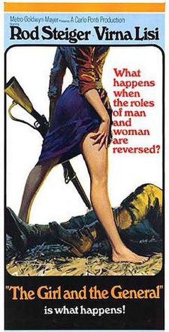 The Girl and the General - American theatrical release poster