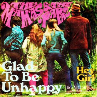 Glad to Be Unhappy - Image: Glad to be unhappy 45 ps