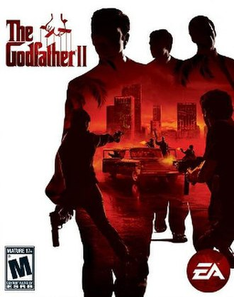 The Godfather II (video game) - Image: Godfather 2game Cover