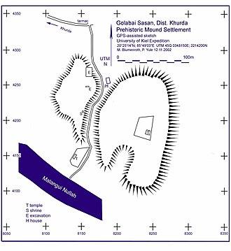 Chilika Lake - Golabai Sasan excavation site