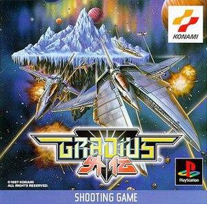 Gradius Gaiden - Japanese PlayStation box art
