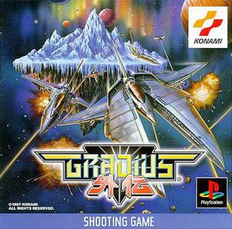 Gradius Gaiden - Japanese PlayStation box art