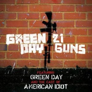 21 Guns (song) - Image: Green Day and the cast of American Idiot 21 Guns cover