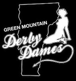 Green Mountain Roller Derby - Green Mountain's old logo