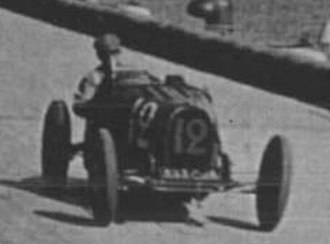 Monaco Grand Prix - William Grover-Williams at the 1929 Monaco Grand Prix