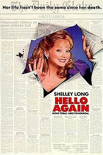 <i>Hello Again</i> (1987 film) 1987 film by Frank Perry