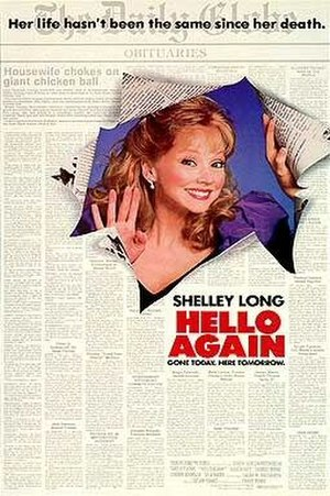 Hello Again (1987 film) - Theatrical release poster