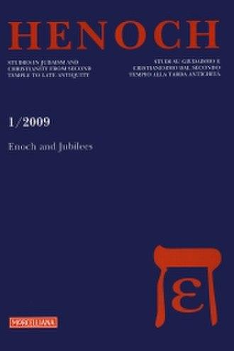 Henoch (journal) - Image: Henoch journal cover