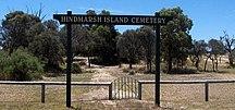 Hindmarsh Island-Hindmarsh Island Cemetery-Hindmarsh Island Cemetery Entrance