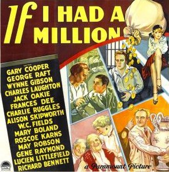 If I Had a Million - Theatrical poster