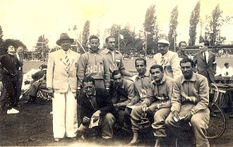India at the 1948 Summer Olympics - India cyclists 1948- Bhoot, Saugar, Malcolm, Mehra, others