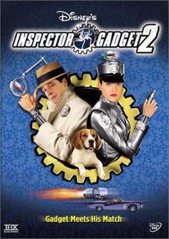 Inspector Gadget 2 - American DVD cover