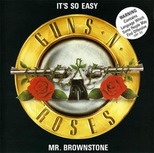 It's So Easy (Guns N' Roses song) - Image: It's So Easy Single