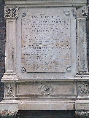 John Addey (shipbuilder) - John Addey commemoration plaque