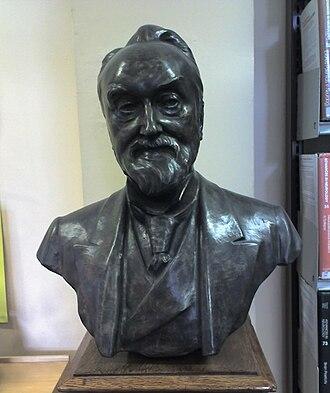 John Hughlings Jackson - Bust of John Hughlings Jackson, resident in the Institute of Neurology, London