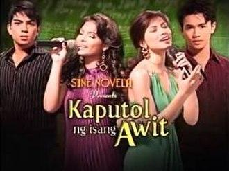 Kaputol ng Isang Awit - Title card
