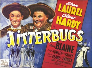 <i>Jitterbugs</i> 1943 film by Malcolm St. Clair