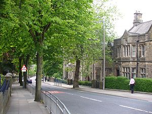 Lancaster Royal Grammar School -  Old School House.
