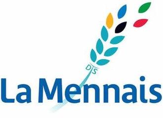 Brothers of Christian Instruction - Image: La Mennais Brothers Logo