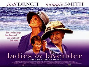 Ladies in Lavender - Original poster