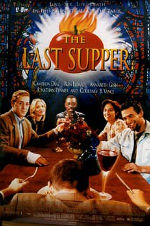 The Last Supper (1996 film) - Theatrical release poster