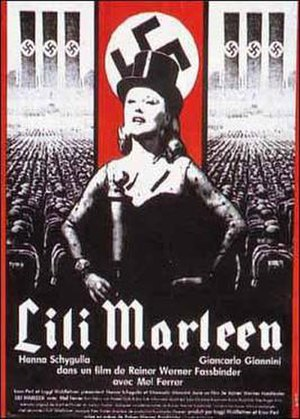Lili Marleen (film) - Theatrical release poster