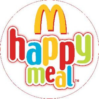 Happy Meal - Happy Meal logo, English