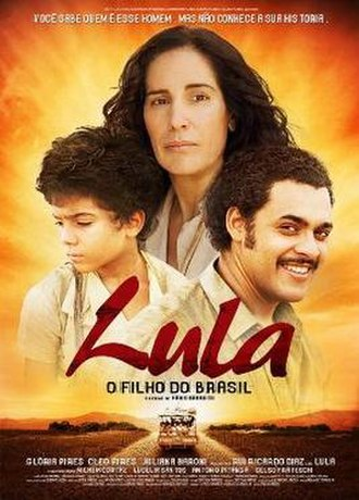 Lula, Son of Brazil - Brazilian theatrical release poster
