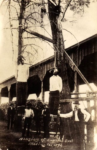 Lynching of the Ruggle Brothers
