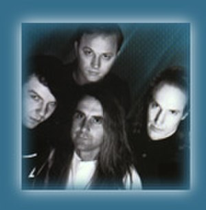 Mad at the World - Band circa 1991; clockwise from left - Randy Rose, Brent Gordon, Mike Pendleton, Roger Rose
