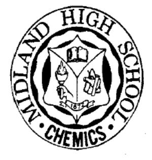 Midland High School (Midland, Michigan) - Image: Midland High School Emblem