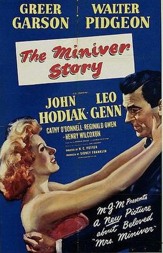 The Miniver Story - Theatrical release poster