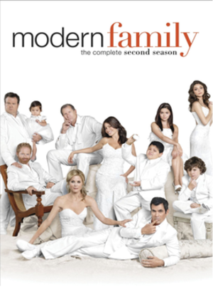 Modern Family (season 2) - Image: Modern Family Season Two DVD Cover