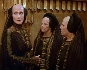 Bene Gesserit - Reverend Mother Mohiam (Siân Phillips) and other Bene Gesserit, from David Lynch's Dune (1984)