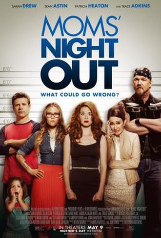 Moms' Night Out - Theatrical release poster