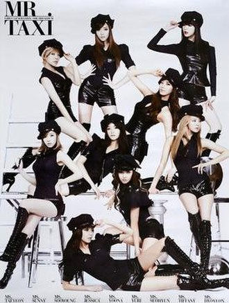 The Boys (Girls' Generation album) - Image: Mr Taxi SNSD