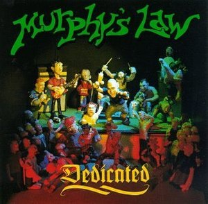 Dedicated (Murphy's Law album) - Image: Murphyslawdedicated