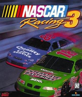 NASCAR Racing 3 - Image: NASCAR Racing 3 boxart