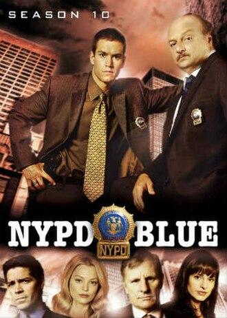NYPD Blue (season 10) - Season 10 U.S. DVD Cover