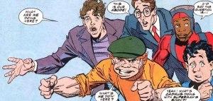Newsboy Legion - Superman - Funeral for a Friend