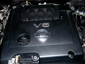 Nissan VQ engine - Nissan VQ23DE engine installed in a 2004 Nissan Teana J31