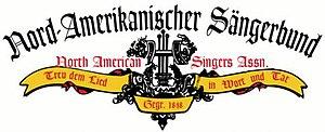 Nord-Amerikanischer Sängerbund - Image: Nordaamerikanischer Saengerbund