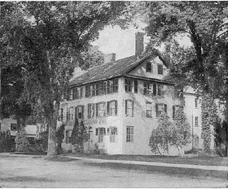 History of Dedham, Massachusetts, 1793–1999 - The Norfolk House was built in 1802 and once hosted a speech by Abraham Lincoln.