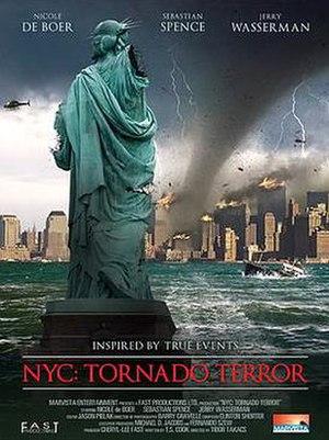 NYC: Tornado Terror - Image: Nyc Tornado Terror Poster