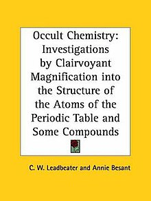 Occult Chemistry Wikipedia